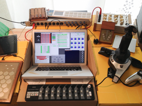 Digitales Musikinstrument  © Alberto De Campo