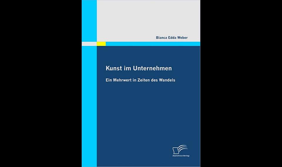 Buchcover Kunst im Unternehmen